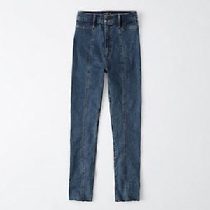 NWT Abercombie & Fitch Ultra High Rise Ankle Jeans